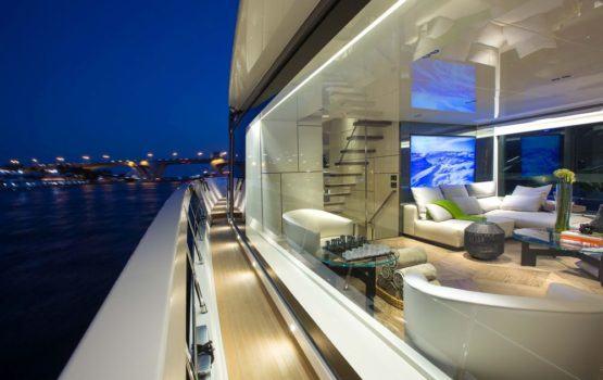 Projekt luksusowego jachtu San Lorenzo 102