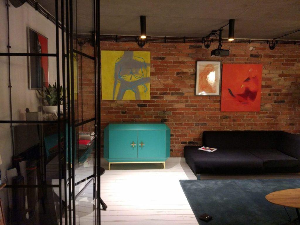 Zielona komoda Studio Punca