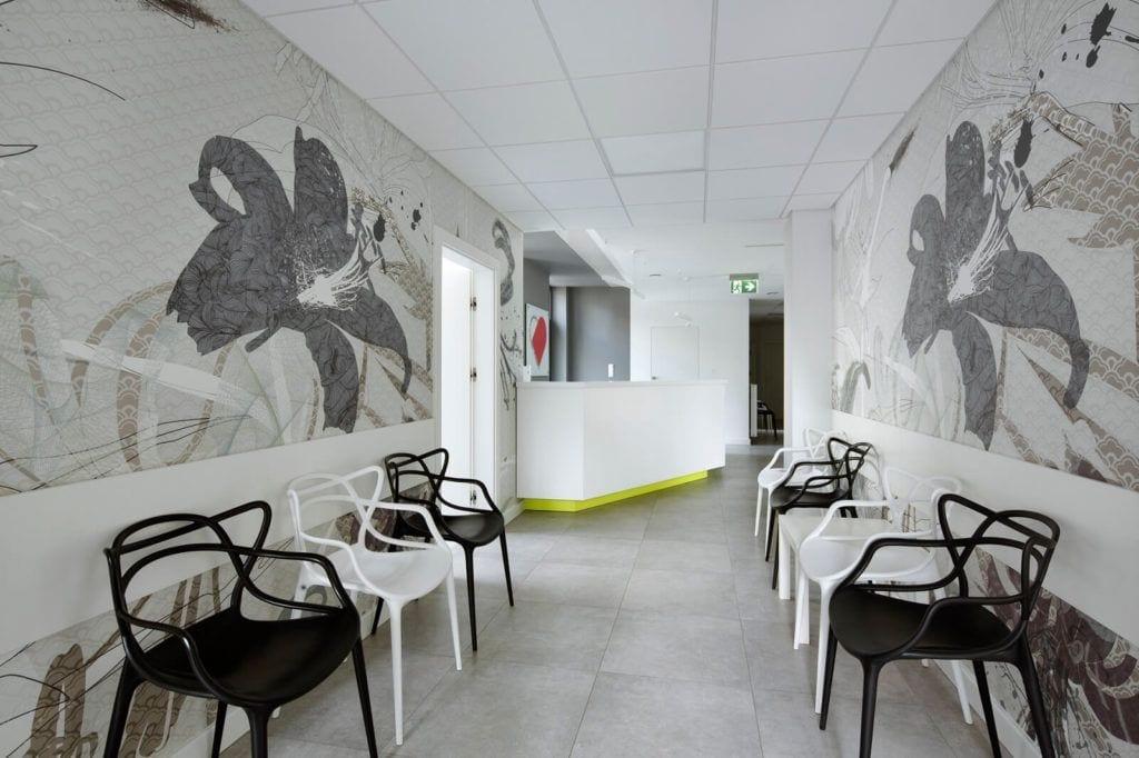 Wnętrza projektu Agata Frątczak Marta Drzymała biuro architektoniczne MADAMA