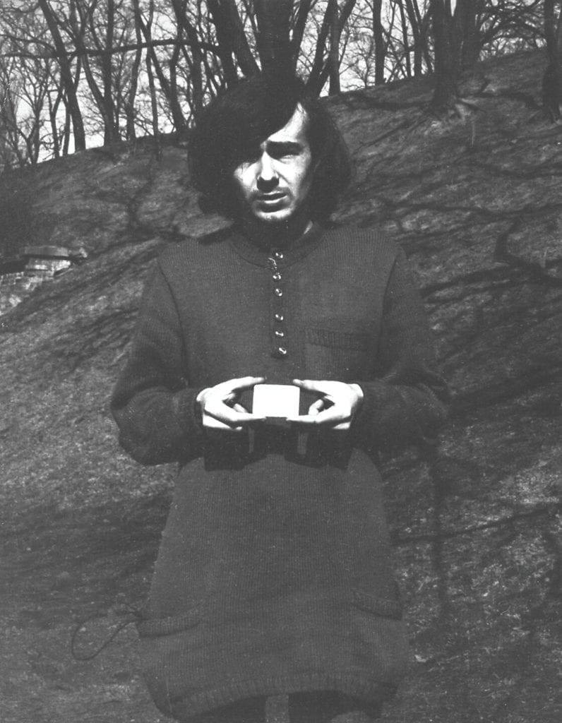 Romuald Kutera, Lusterko [Looking Glass], 1972_2019, odbotka własna artysty, 13x8 cm