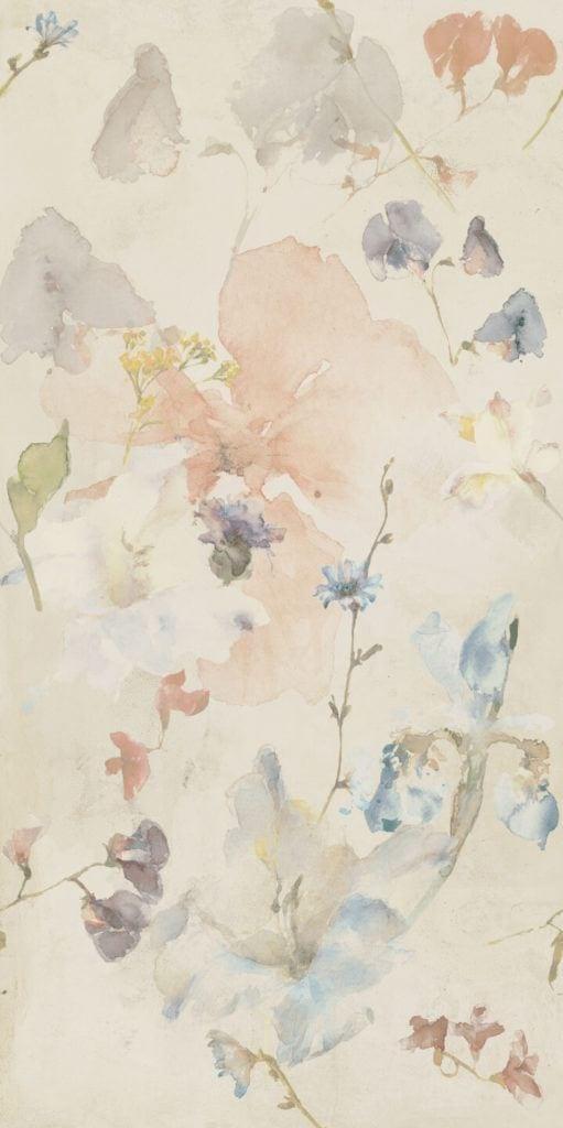 Tubądzin na targach Cersaie w Bolonii - Pastel Flowers MAT