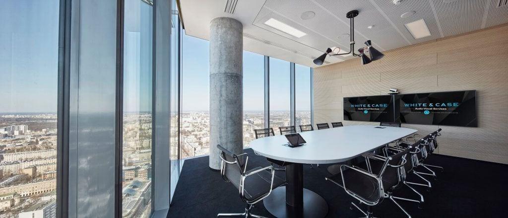 Warszawskie biuro kancelarii White & Case LPP - Sala konferencyjna
