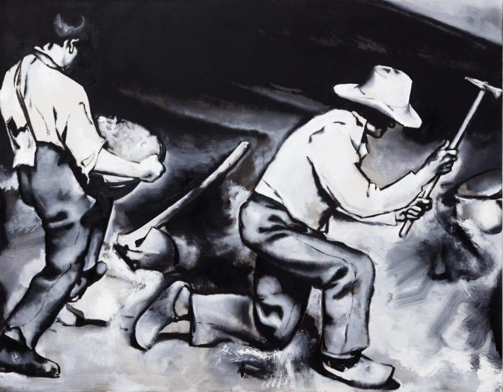 Wilhelm Sasnal, Bez tytułu, 2018, dzięki uprzejmości artysty i Fundacji Galerii Foksal