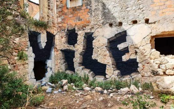 Złudzenia optyczne w graffiti autorstwa VILE