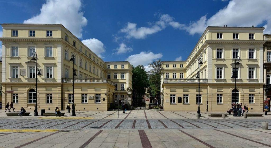 Akademia Sztuk Pięknych w Warszawie foto Adrian Grycuk