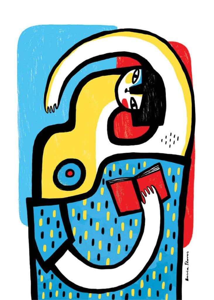 About a girl - kolekcja kobiecych plakatów Wall-being - Kobieta II - Basia Flores