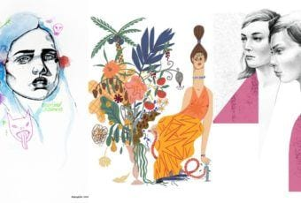 About a girl – kolekcja kobiecych plakatów Wall-being