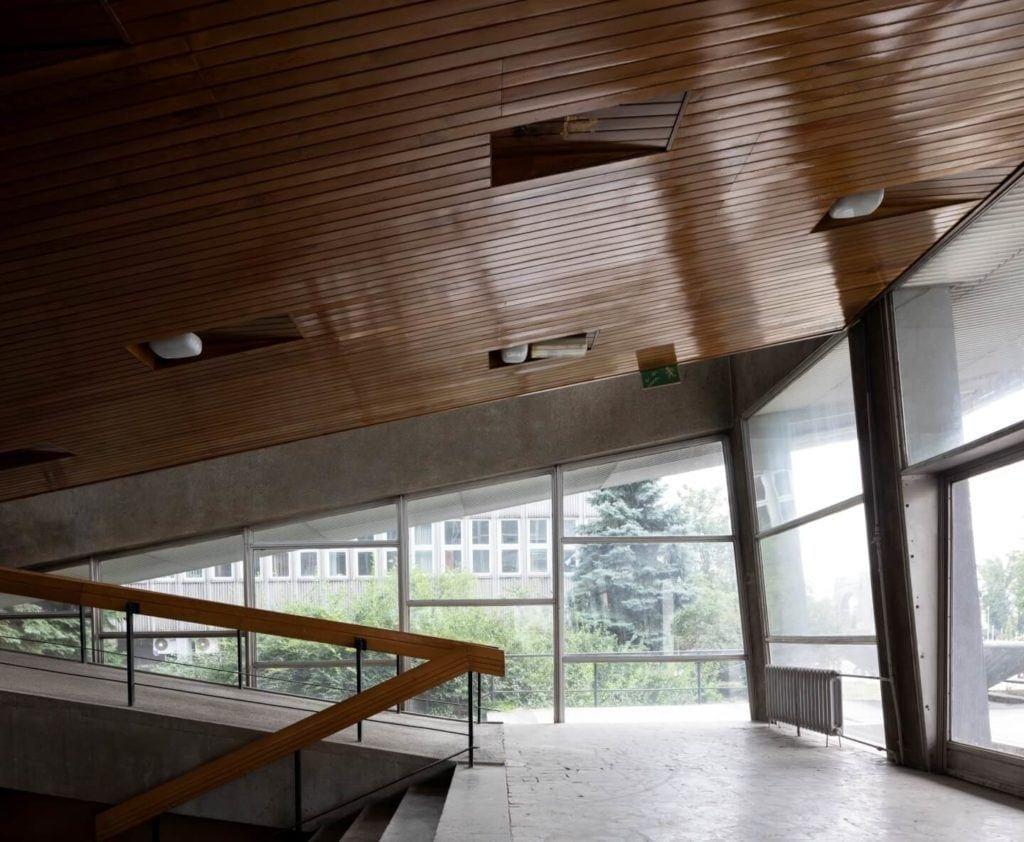 Wnętrze audytorium Wydziału Chemii Uniwersytetu Wrocławskiego,Fot. Anna Morgowicz