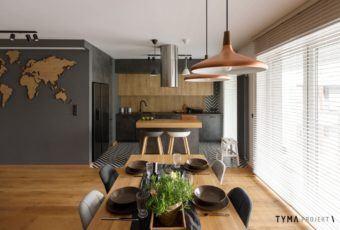 Tyma Projekt i przytulne mieszkanie dla młodej pary