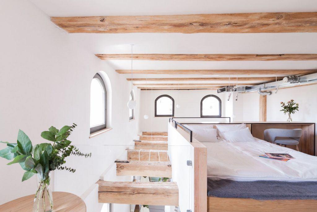Apartamenty Monka - Apartamenty Toruń - Biuro architektoniczne Znamy się - antresola