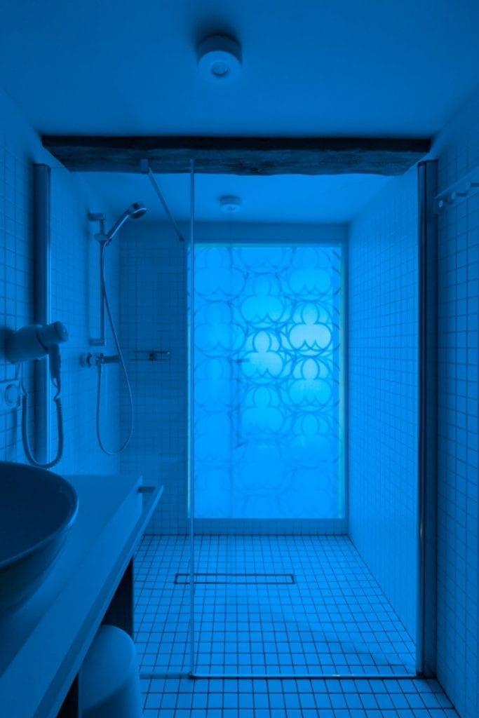 Apartamenty Monka - Apartamenty Toruń - Biuro architektoniczne Znamy się - Kabina prysznicowa