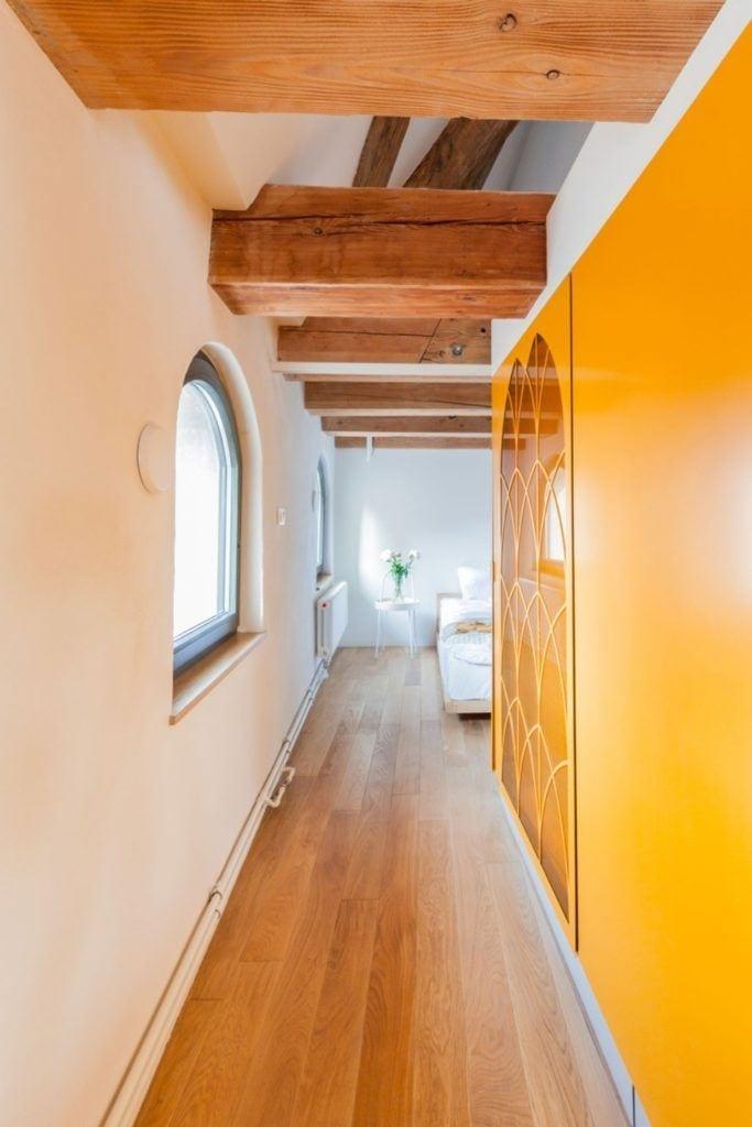 Apartamenty Monka - Apartamenty Toruń - Biuro architektoniczne Znamy się - Korytarz