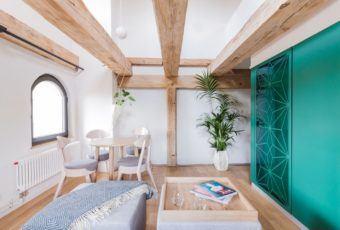 Apartamenty Monka w 100-letnim toruńskim spichlerzu