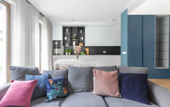 Funkcjonalne mieszkanie na Bemowie projektu Decoroom