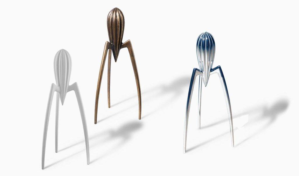 Juicy salif - Philippe Starck - anniversario slider