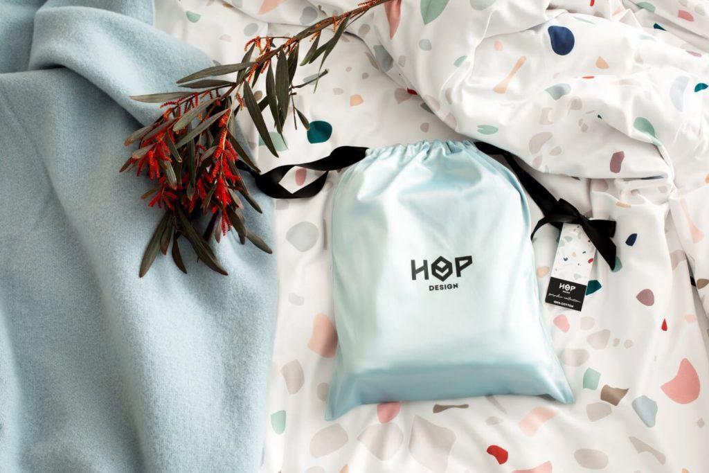 Hop Design - połączenie sztuki z rzemiosłem - pościel Free Love