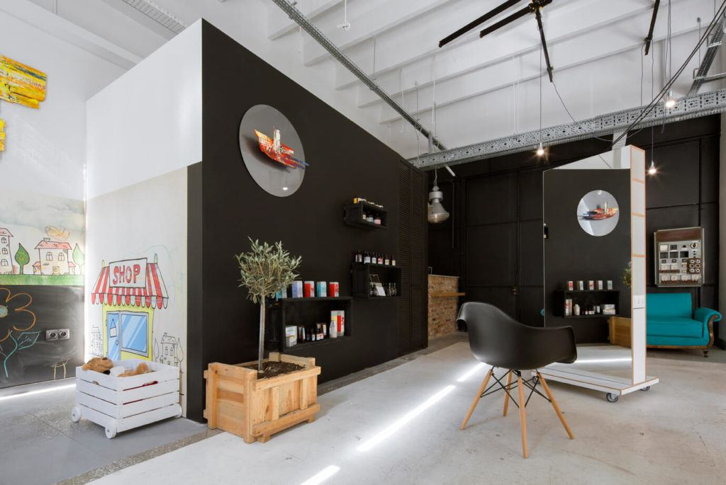 Loft Hair Emergency projektu Poco Design z nagrodą European Property Awards