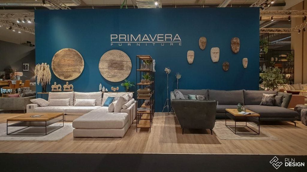 Międzynarodowe targi wnętrz Warsaw Home 2019 - stoisko marki Primavera Furniture