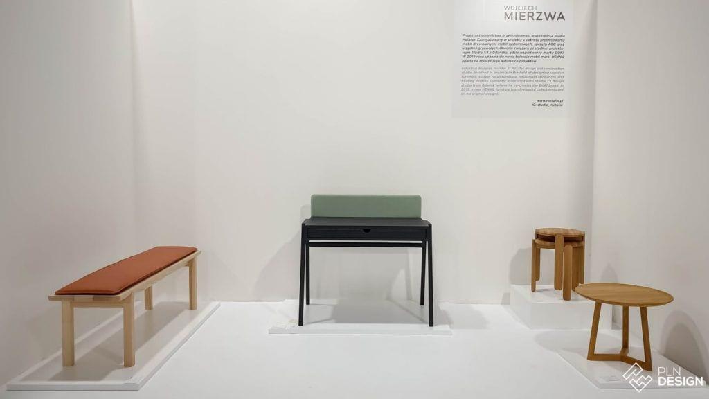 Międzynarodowe targi wnętrz Warsaw Home 2019 - Wojciech Mierzwa - Wystawa IDEAS