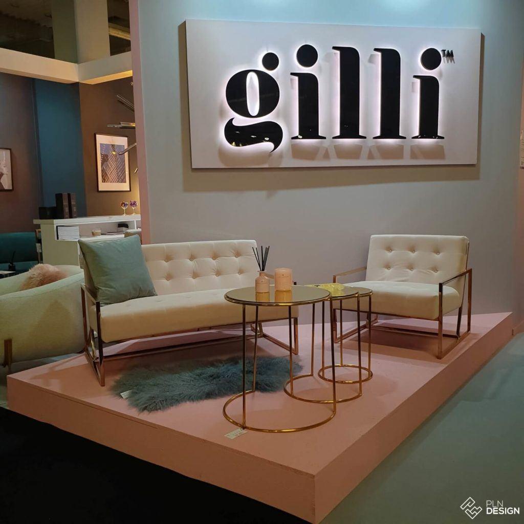 Międzynarodowe targi wnętrz Warsaw Home 2019 - stoisko marki Gilli
