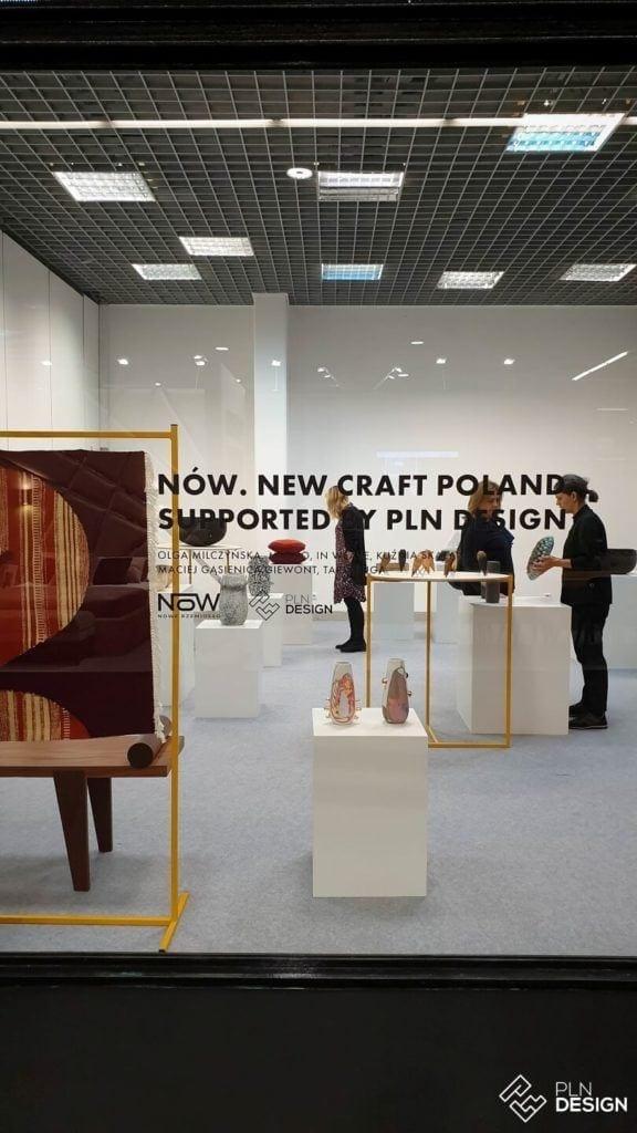 Międzynarodowe targi wnętrz Warsaw Home 2019 - Wystawa NÓW. New Craft Poland supported by PLN Design