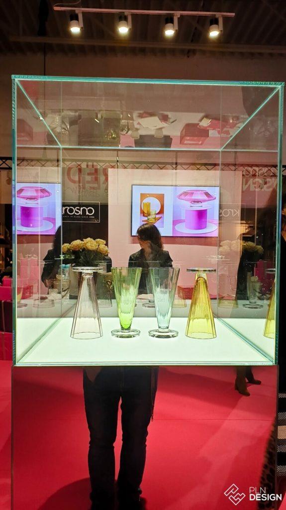 Międzynarodowe targi wnętrz Warsaw Home 2019 - stoisko marki Krosno Glass