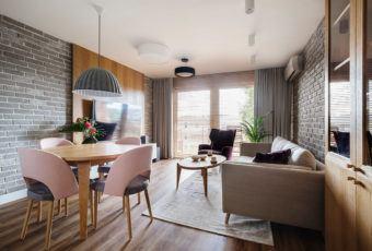 Mieszkanie na Helu od Kowalczyk-Gajda Studio Projektowe