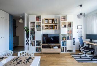 Mieszkanie w Pabianicach projektu pracowni PROJEKT M