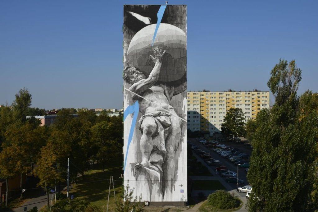 Murale czyli piękny romans sztuki z miastem - INO Bomber -2018 - photo by Paweł Trzeźwinski