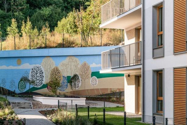 Murale czyli piękny romans sztuki z miastem - VIALO - mural-na-osiedlu VIALO