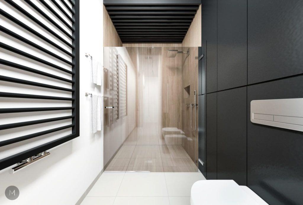 Nowoczesne mieszkanie na warszawskiej Ochocie projektu pracowni PROJEKT M
