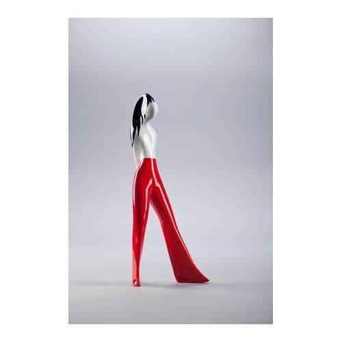 Odłamki - wystawa prac Lubomira Tomaszewskiego w Kordegardzie - Dziewczyna w spodniach