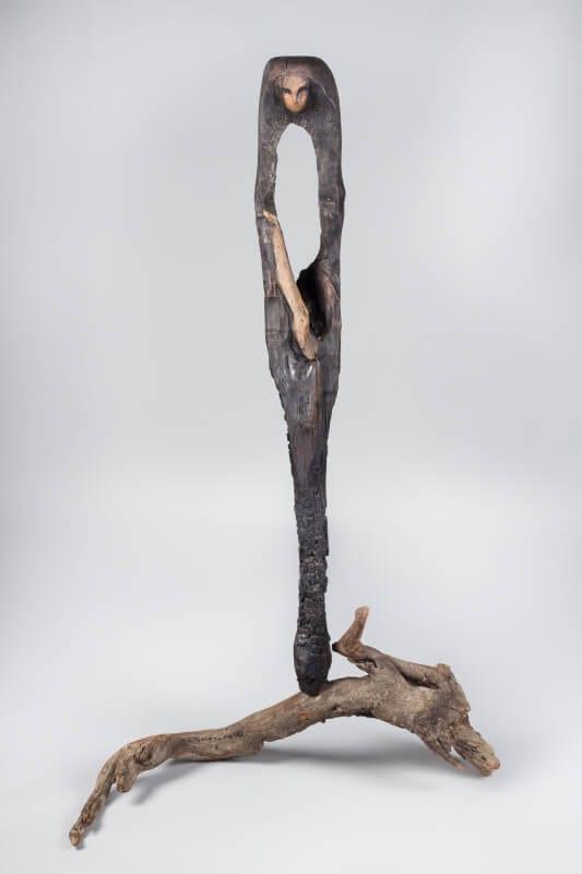 Odłamki - wystawa prac Lubomira Tomaszewskiego w Kordegardzie - Holokaust monument sadness