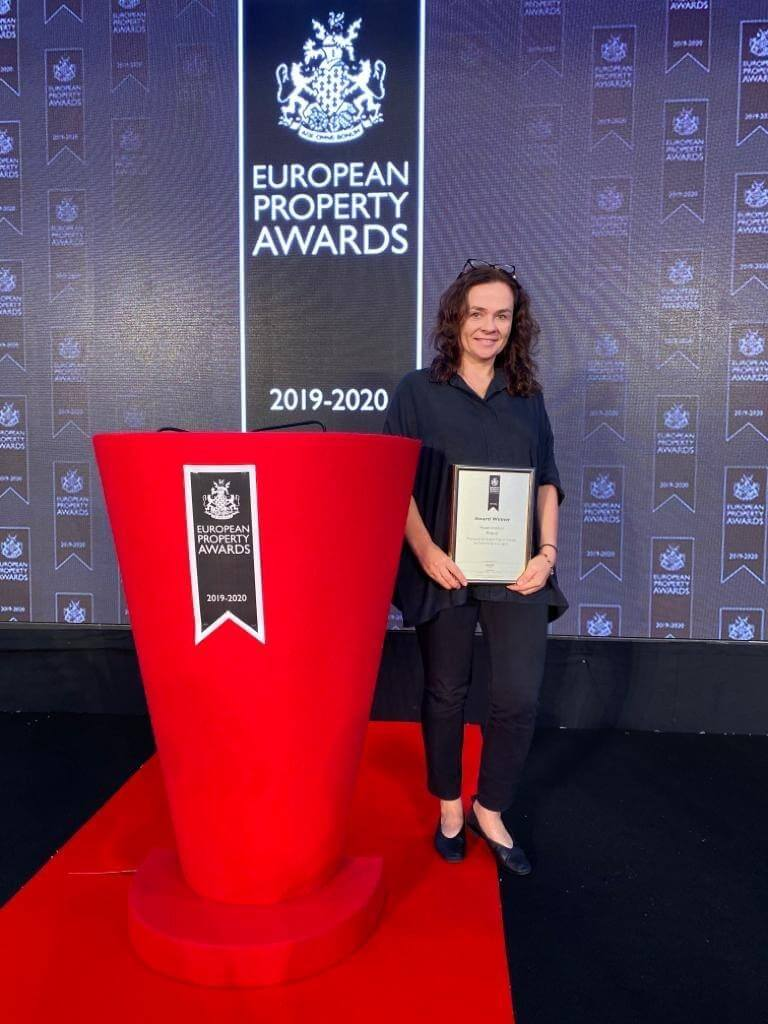 Pracownia Tremend z nagroda International European Property Awards w kategorii Hotel Interior