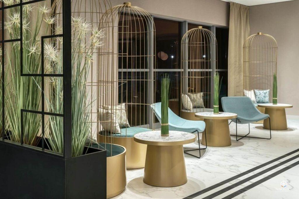 Pracownia Tremend z nagroda International European Property Awards w kategorii Hotel Interior - Metropolo by Golden Tulip w Krakowie