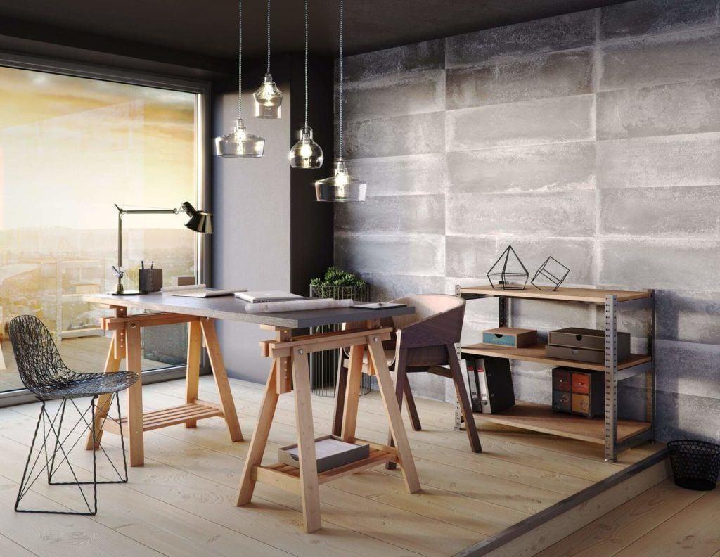 Produkty marki VOX do przestrzeni biurowych - Loft concrete