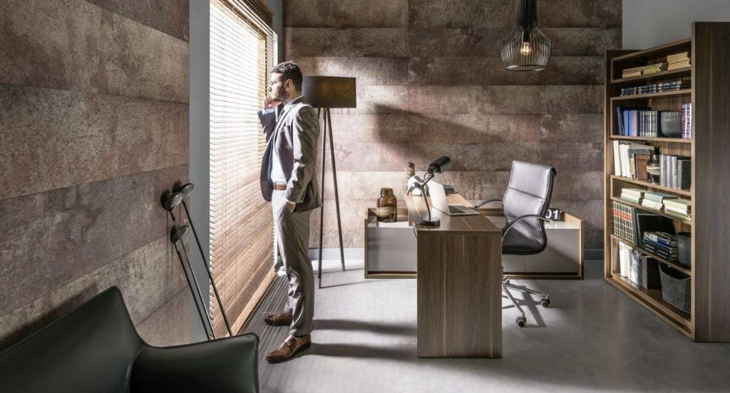 Produkty marki VOX do przestrzeni biurowych - Kerradeco loft rusty