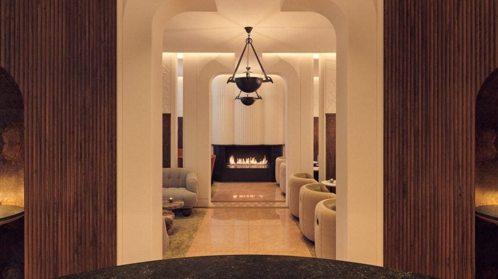 The Berkeley Bar & Terrace w Londynie - Bryan O'Sullivan Studio