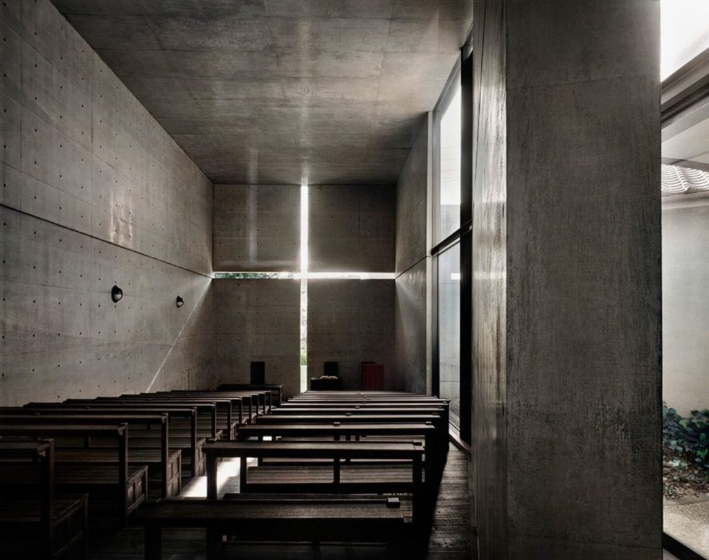 Walter Gropius i idee Bauhausu - Bauhaus Tadao Ando Church of Light Ibaraki Japan foto The Japan Times