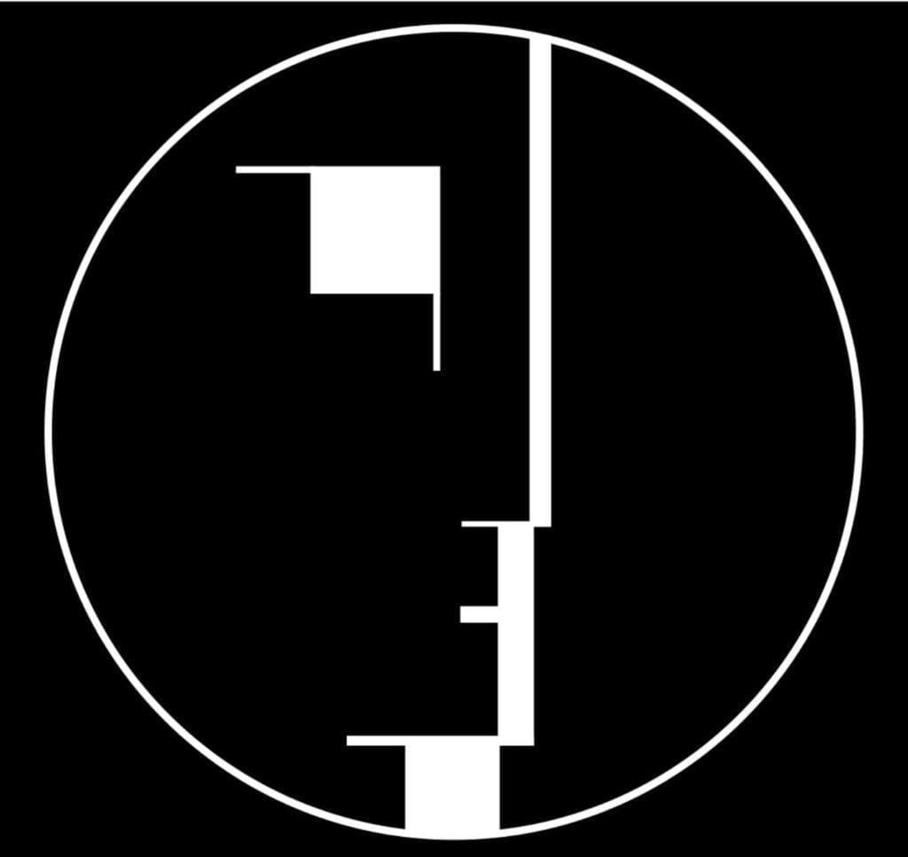 Walter Gropius i idee Bauhausu - Bauhaus logo