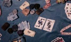 Węże i Magnolie – malowane karty do gry Jagny Wróblewskiej