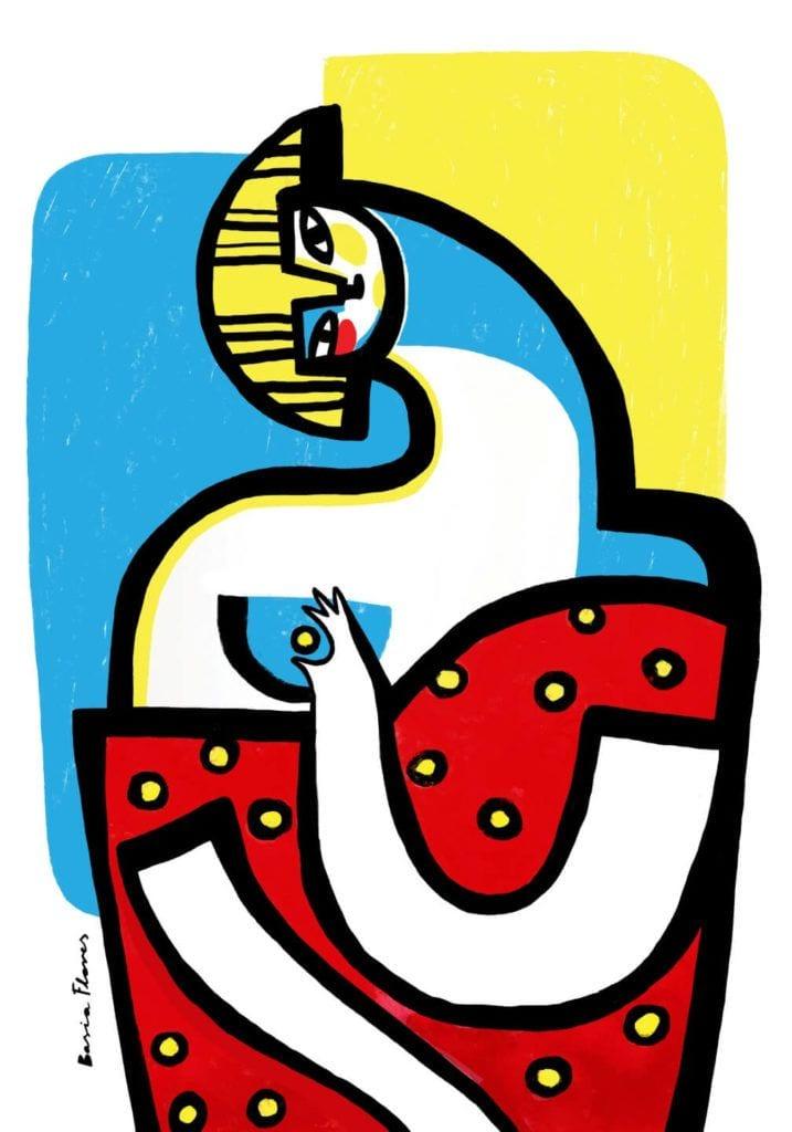 "Wystawa ""POLKI Hidden Power"" na Austin Design Week - Basia Illustration"