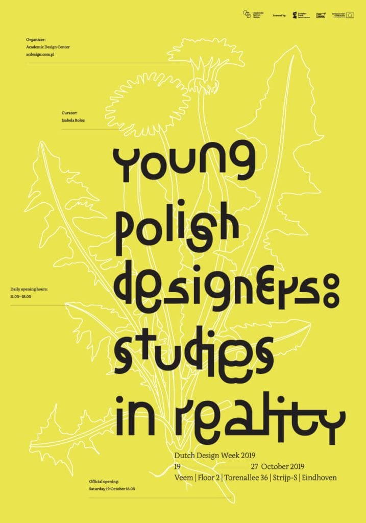 Young Polish Designers: Studies in Reality na Dutch Design Week #1