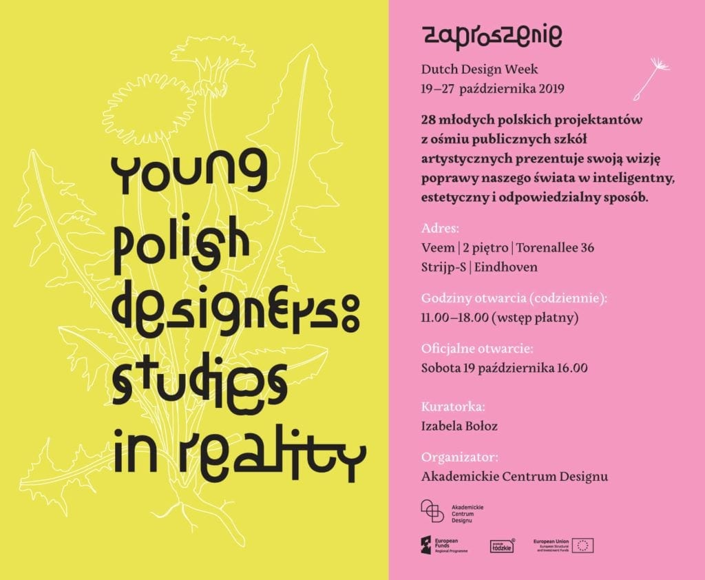 Young Polish Designers: Studies in Reality na Dutch Design Week