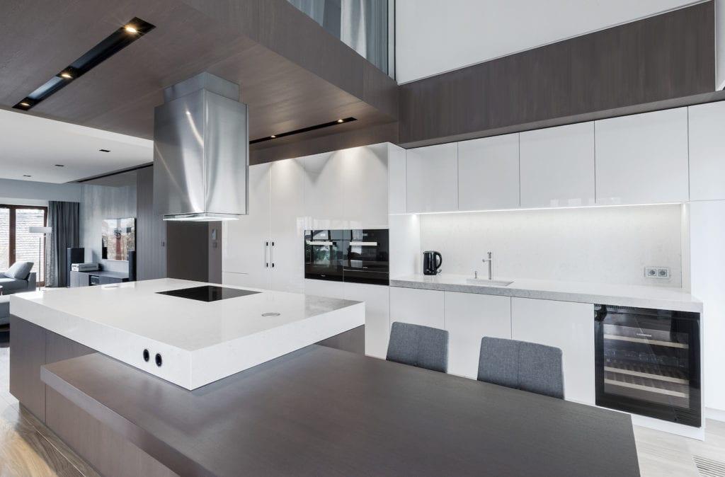 Anna Mizyn i projekt kuchni w luksusowym penthousie