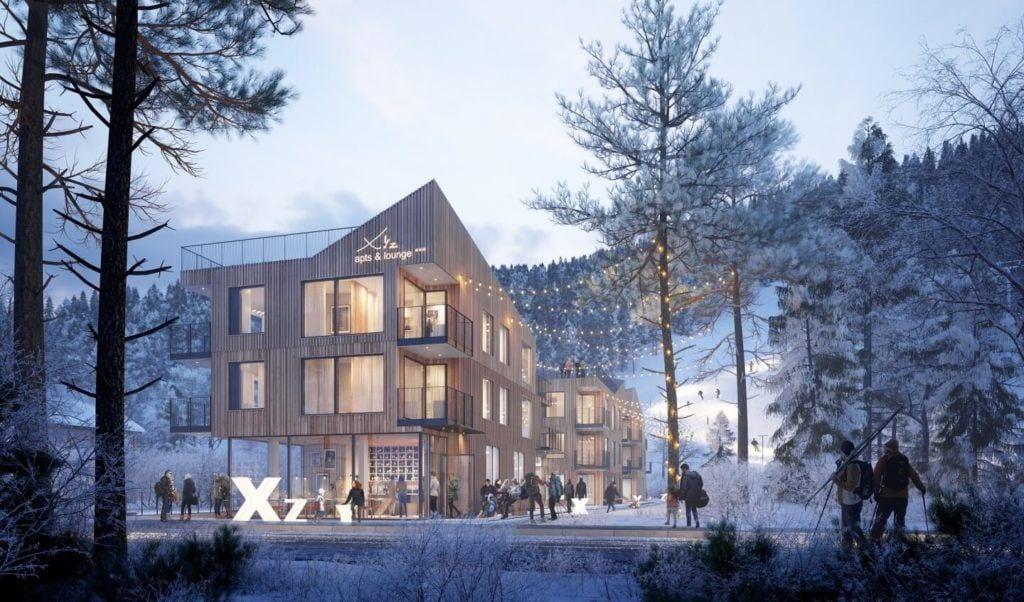 Apartamenty XYZ w Szczyrku projektu pracowni WXCA