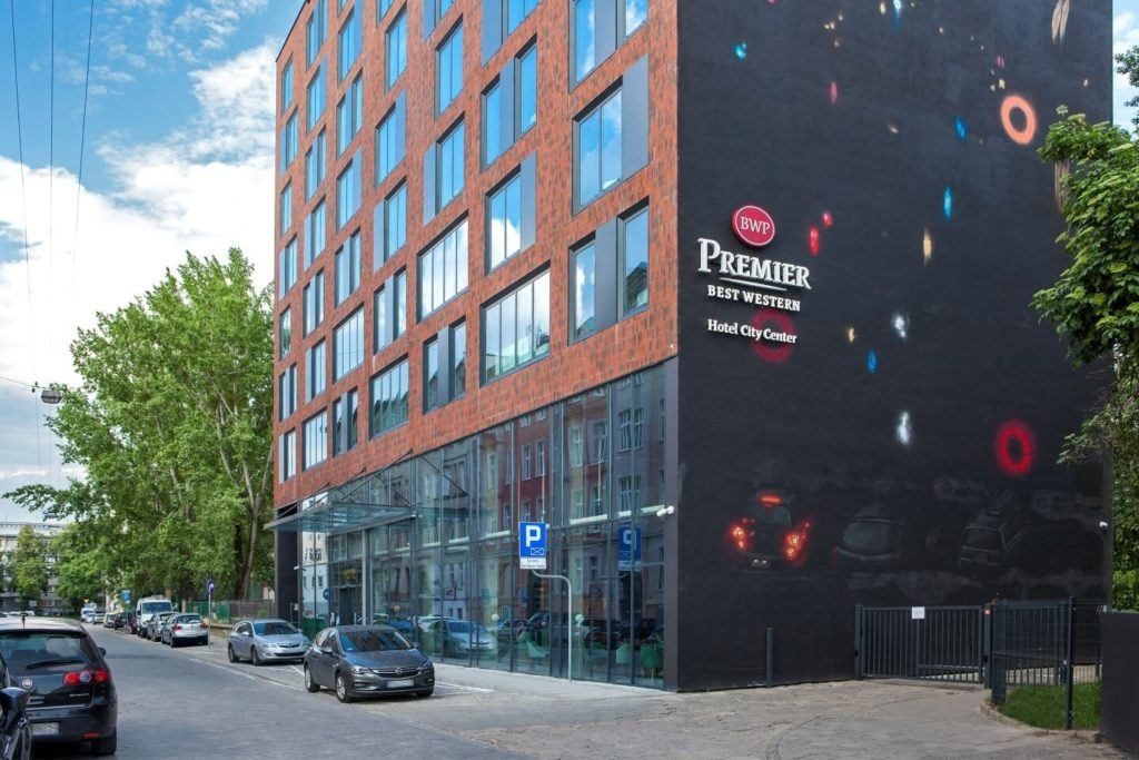 Best Western Premier Hotel City Center we Wrocławiu - Fasada