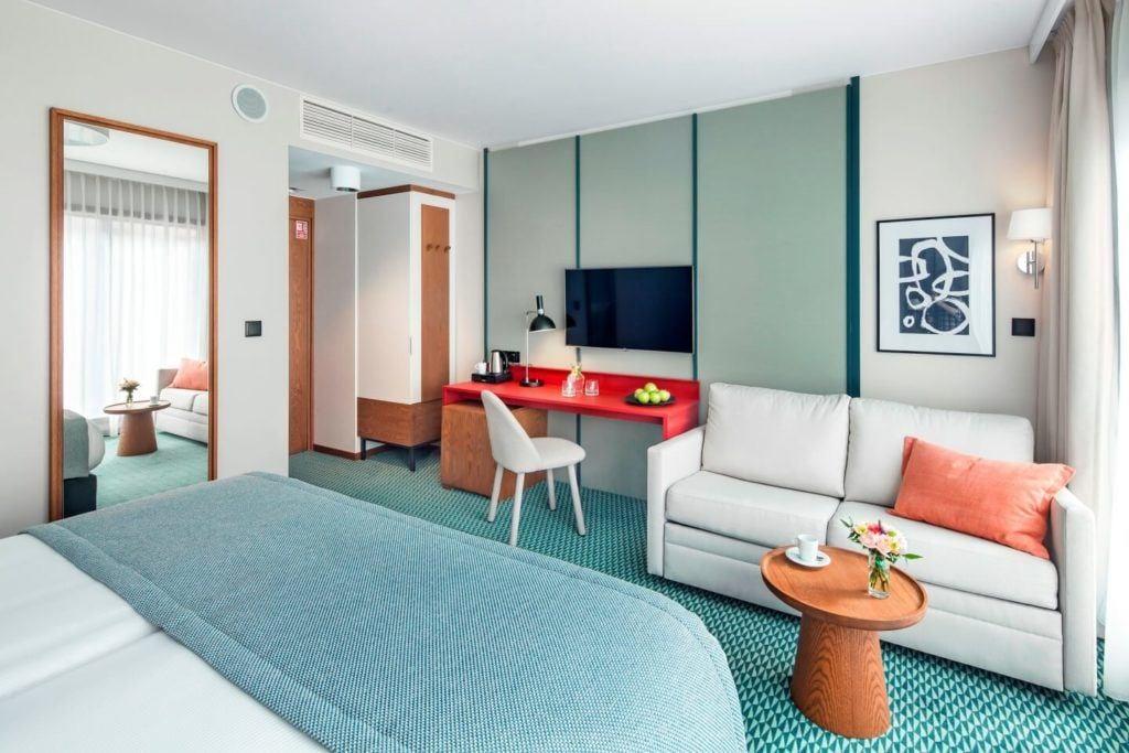Best Western Premier Hotel City Center we Wrocławiu - Pokój dwuosobowy