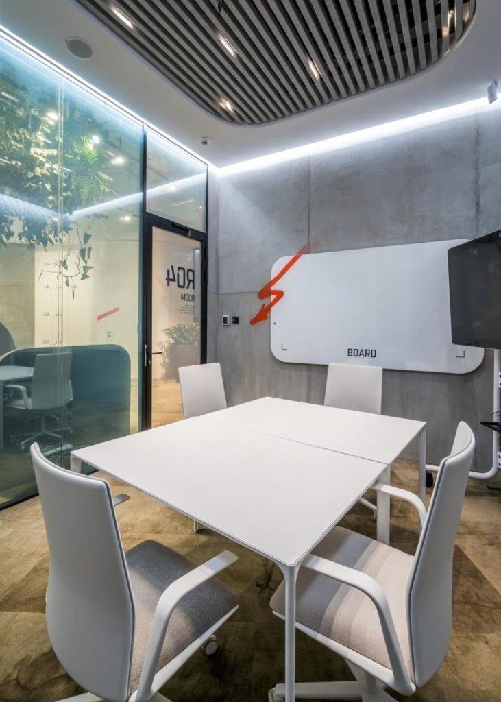 Biuro RBL_ - projekt Studio Robert Majkut Design dla Alior Bank - salka szkoleniowa