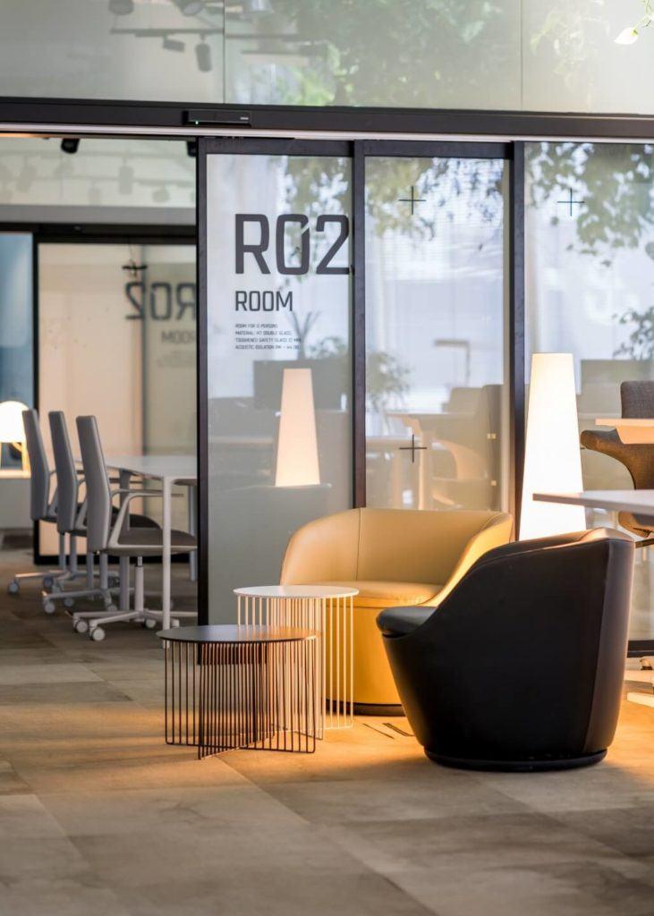 Biuro RBL_ - projekt Studio Robert Majkut Design dla Alior Bank - strefa odpoczynku